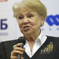 ART ECh-Moscow/RUS 2013: opening press-conference, LATYNINA Larisa