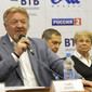ART ECh-Moscow/RUS 2013: opening press-conference, TITOV Vassily vize president