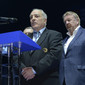 ART ECh-Moscow/RUS 2013: opening ceremony, GUELZEC Georges/UEG + TITOV Vassily