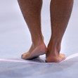ART Challenge Worldcup Cottbus/GER 2015: Detail feet
