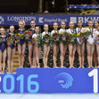 ART-ECh Bern/SUI - 2016: podium teams junior, RUS+GBR-ROU