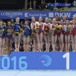 ART-ECh Bern/SUI - 2016: women's senior teams, RUS+GBR+FRA