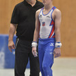 Jugend DM in Halle(Saale): WOHL Bryan + coach