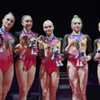 ART ECh Glasgow/GBR: victory ceremony, team RUS