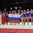 ART ECh Glasgow/GBR: teams FRA+ RUS + NED