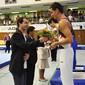 TRA-Worldcup Salzgitter: podium trampoline indivdual men