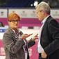 Women's ECh-Brussels: BRASIER Yvette + HEDIGER Ruedi/UEG