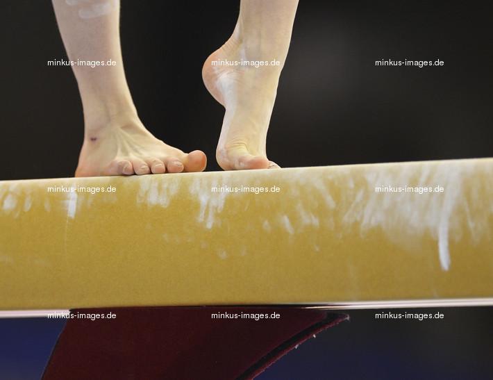 Women's ECh-Brussels: detail feet