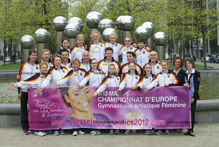 Women's ECh-Brussels 2012: delegation GER