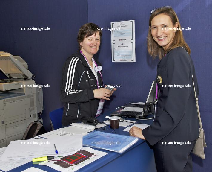 Women's ECh-Brussels 2012: DO ROSARIO Oriane + DOENS Inge