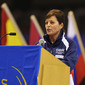 Women's ECh-Brussels 2012: coach speaking the oat