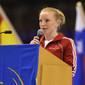 Women's ECh-Brussels 2012: MYS Gaelle BEL spaeking the oat