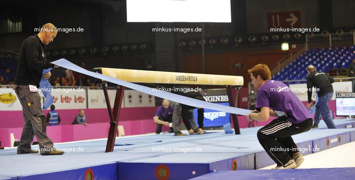 Women's ECh-Brussels 2012: Janssen.Fritsen preparation