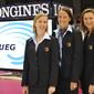 Women's ECh-Brussels 2012: PILET Linda, DO Rosario Oriane, EROFEJEFF-ENGMANN Kirsi/UEG