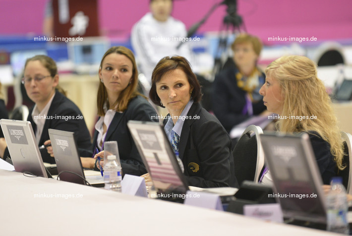 Women's ECh-Brussels 2012: judges + LISKAROVA Hana/CZE