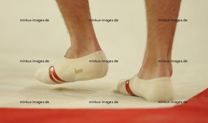 Men's ECh-Montpellier 2012: detail feet