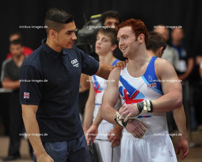 Men's ECh-Montpellier 2012: PURVIS Daniel+ SMITH Louis/GBR