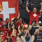 Men's ECh-Montpellier 2012: fans SUI