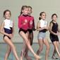 Maedchen bei Tanzchoreografie