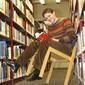 Henrik Stehlik in der Uni-Bibliothek